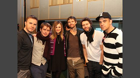 Take That: Live Lounge - 22 Nov