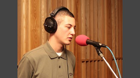 Devlin in the Live Lounge