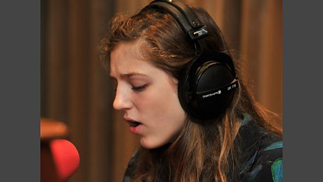 19 July 11 - Birdy in the Live Lounge
