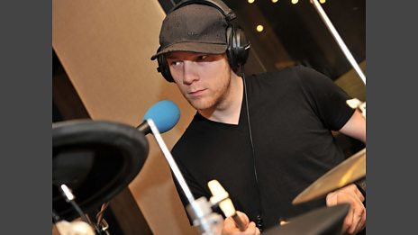 03 Aug 11 - Nero in the Live Lounge