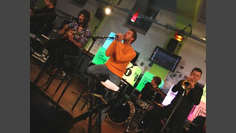 26 Oct 11 - Kasabian in the Live Lounge