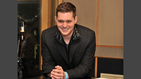 08 Dec 11 - Michael Buble in the Live Lounge