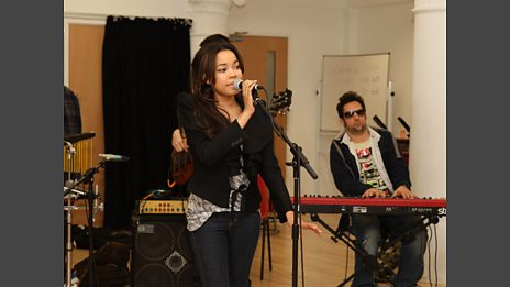 Dionne Bromfield in the Live Lounge