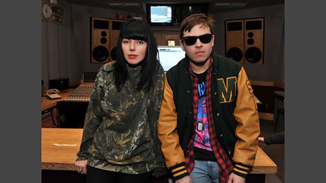 Sleigh Bells in session
