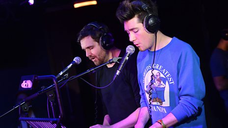 Bastille in the Live Lounge
