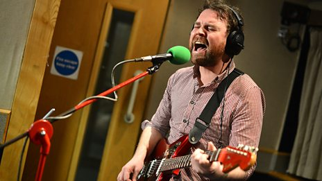 Frightened Rabbit in session for Zane