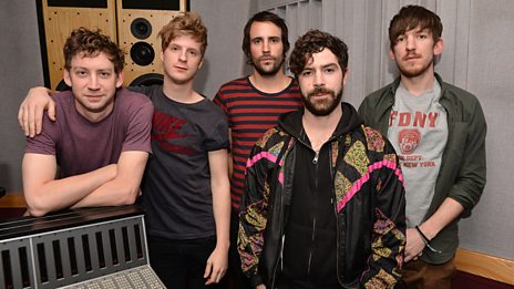 Foals in session for Zane