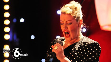 Alice Russell and James Hunter at 6 Music Live