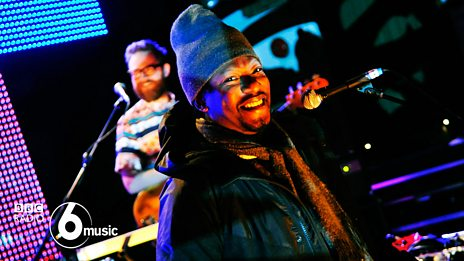 Roots Manuva & The Invisible at 6 Music Live