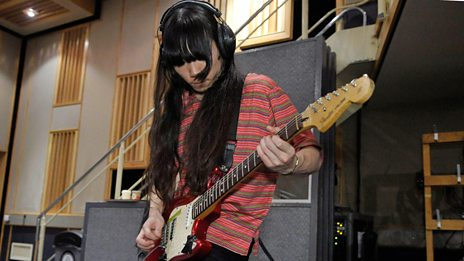 Bo Ningen in session for Huw