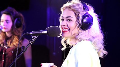 Rita Ora in the Live Lounge