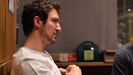 Frank Turner in session