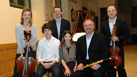 Winners of the Radio 3/NCEM Instrumental Composers Award 2013 with Florilegium