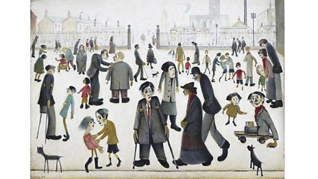 L.S. Lowry and the Painting of Modern Life