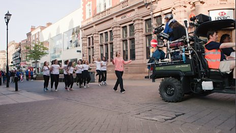Lipdub Lincoln - commissioned by BBC Radio Lincolnshire - recorded on Saturday July 13 2013