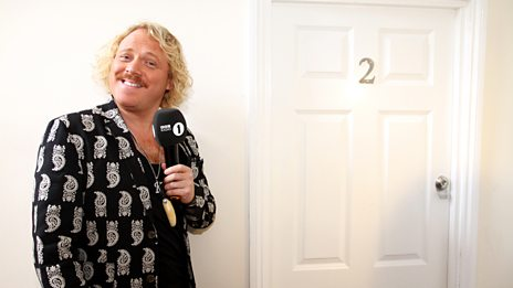 Keith Lemon Goes Through The Keyhole Into Greg's Flat
