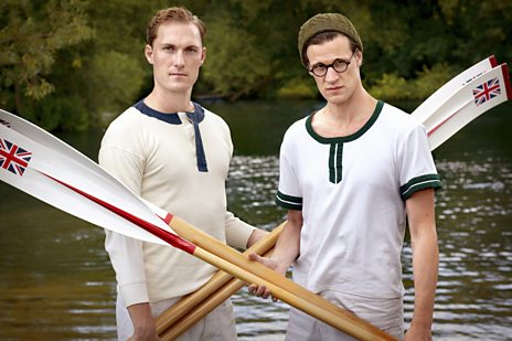 TV Blog - Bert & Dickie: William Ivory on writing an olympic drama