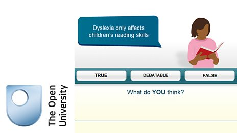 Dyslexia and open university