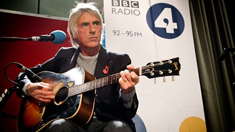 Paul Weller at Maida Vale Studios