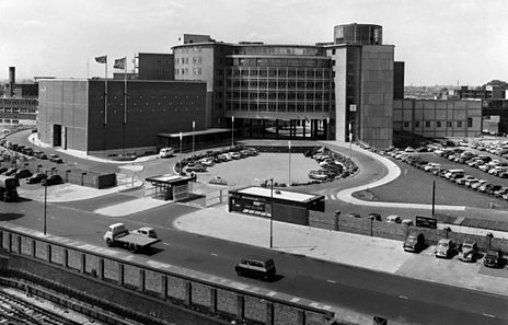 BBC Television Centre in 1960