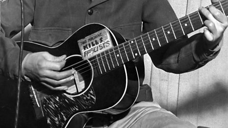 Woody Guthrie's guitar