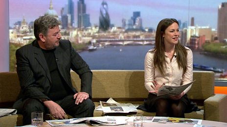 Isabel Hardman and David Aaronovitch