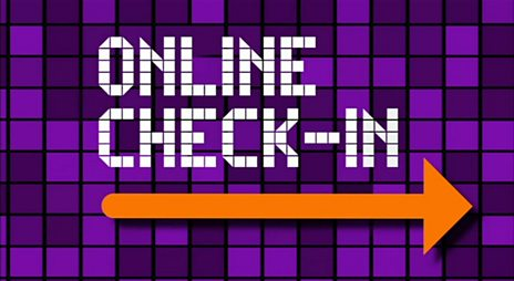 Online Check-In graphic
