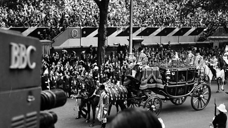 The Coronation of H.M. Queen Elizabeth II