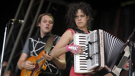 Arcade Fire on /music
