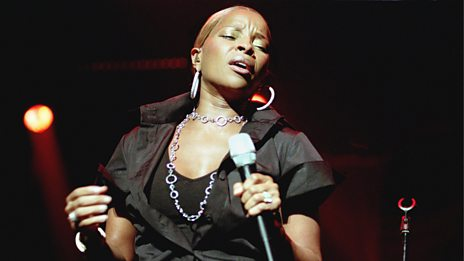 Mary J. Blige on /music