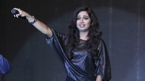 Shreya Ghoshal on /music