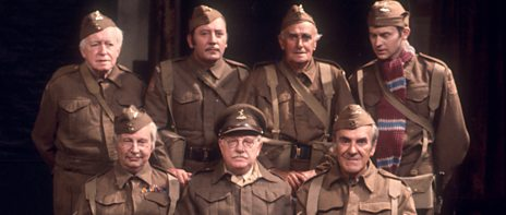Dad's Army group shot for Archive superpromo