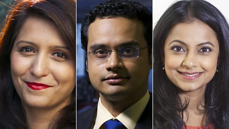 India Business Report presenters