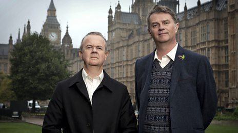 Ian Hislop and Paul Merton at Westminster