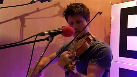 Seth Lakeman in concert at BBC Radio Devon