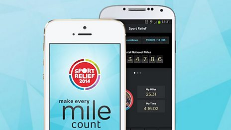 Download the Sport Relief App