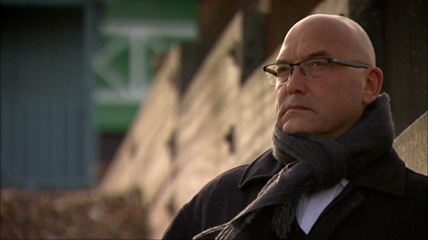 Image for Gregg Wallace sets out on to his journey in to his family's past