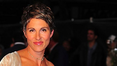Image for Tamsin Greig: 'People are obsessed with me kissing Matt LeBlanc'