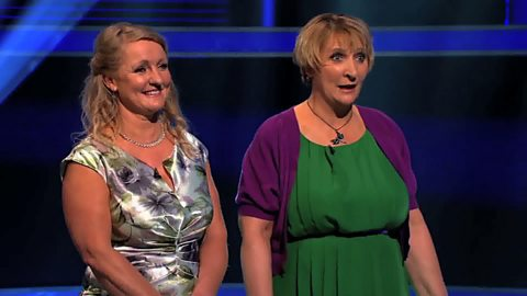 Image for To win £25,000, Debs and Roma had to decide which was smaller - USA or China?