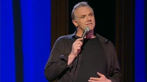 Image for Greg Davies on school nicknames