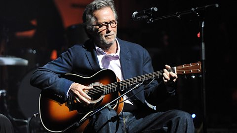 Image for Eric Clapton talks about his album Eric Clapton Unplugged
