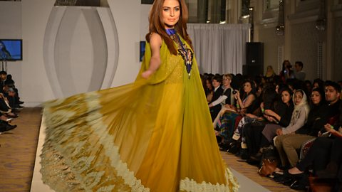 Image for A special report on Pakistan Fashion Week.