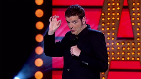 Image for Kevin Bridges on work experience