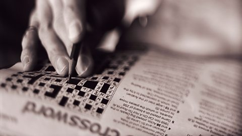 Image for Why are crosswords so addictive?