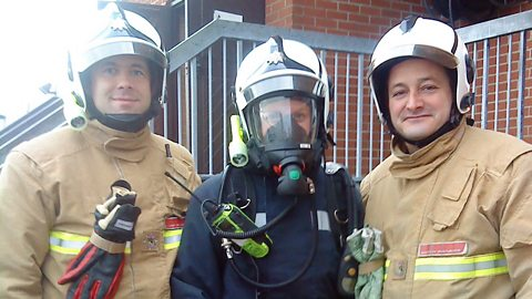 Image for Training with the fire service
