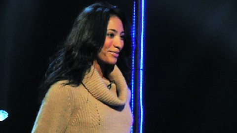 Image for Karen Hauer takes part in the Pro Dancer Challenge