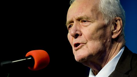 Image for Tony Benn: Celebrity Interview