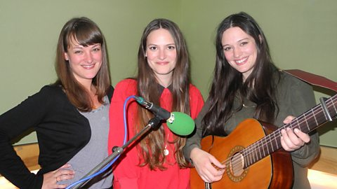 Image for The Staves speak to Jo Whiley