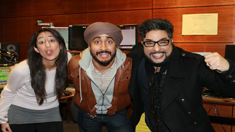 Image for Hear comedian Jus Reign live in the studio with Bobby and Anushka
