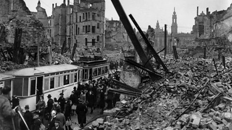 Image for Dresden bombing:
